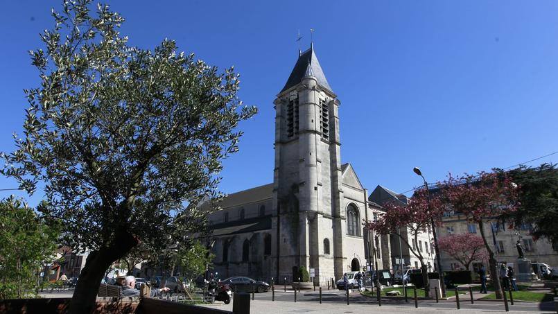 L'église Saint-Cyr-Sainte-Julitte de Villejuif, contre laquelle Sid Ahmed Ghlam projetait un attentat.