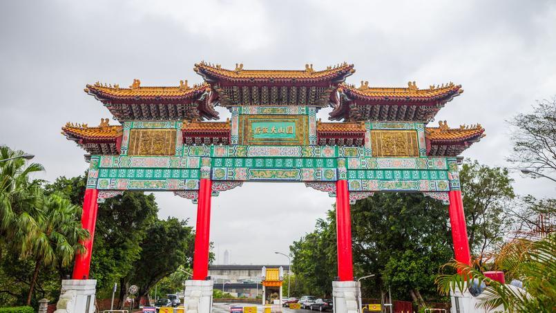 The Grand Hotel à Taïwan, l'une des rares destinations chinoises à attirer les touristes étrangers.