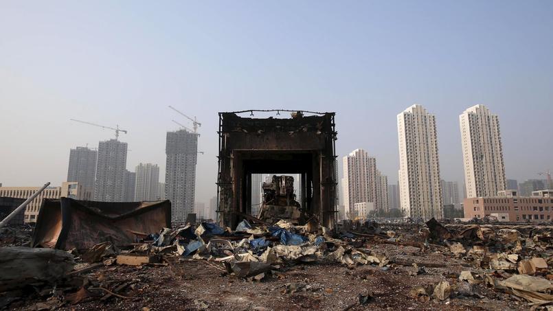 Tianjin, le 15 août.