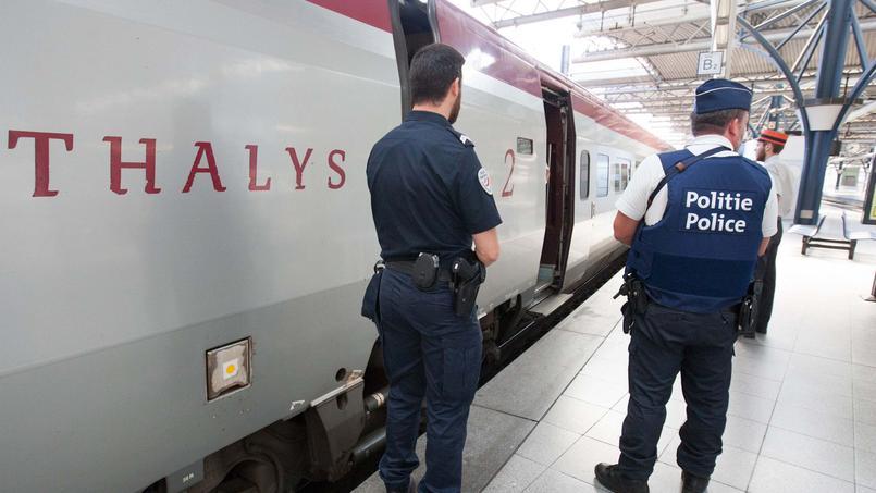 Tirs dans un Thalys: «Il faut mettre en place des points de contrôle aux frontières»