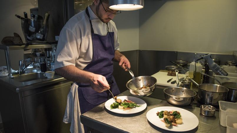 Le restaurant «Le Bon Saint-Pourçain», 10 bis, rue Servandoni, 75006 Paris.
