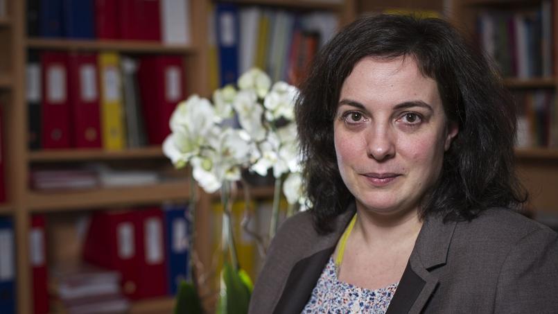 Emmanuelle Cosse, la secrétaire nationale d'Europe-Ecologie-Les-Verts (EELV)