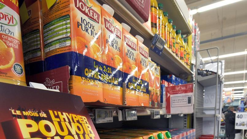 tiquetage nutritionnel revers pour la grande distribution - Colorant Alimentaire Grande Surface