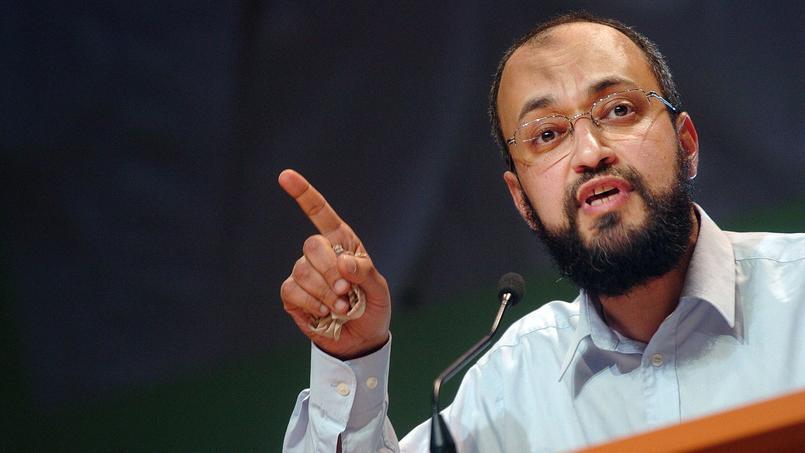 Hani Ramadan, frère de l'universitaire Tariq Ramadan, ici au Congrès de l'UOIF en 2007