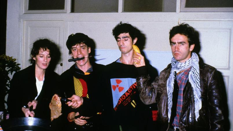 Les membres de Téléphone, ici en octobre 1984, donneront un concert le 11 septembre, sans Corine Marienneau (à gauche).