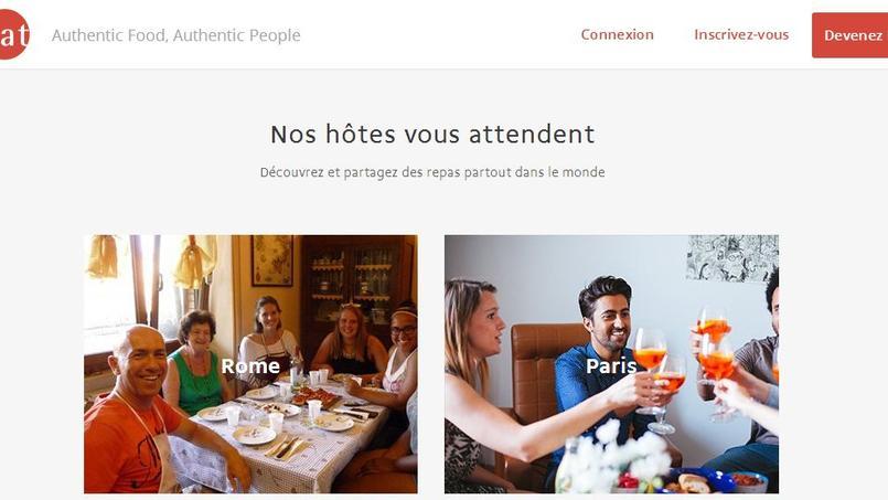 Leader européen, le français VizEat a avalé il y a peu son petit concurrent Cookening, l'un des pionniers du «social dining».