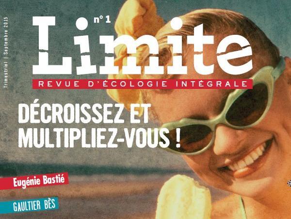 Revue Limite : vivre et penser contre son temps