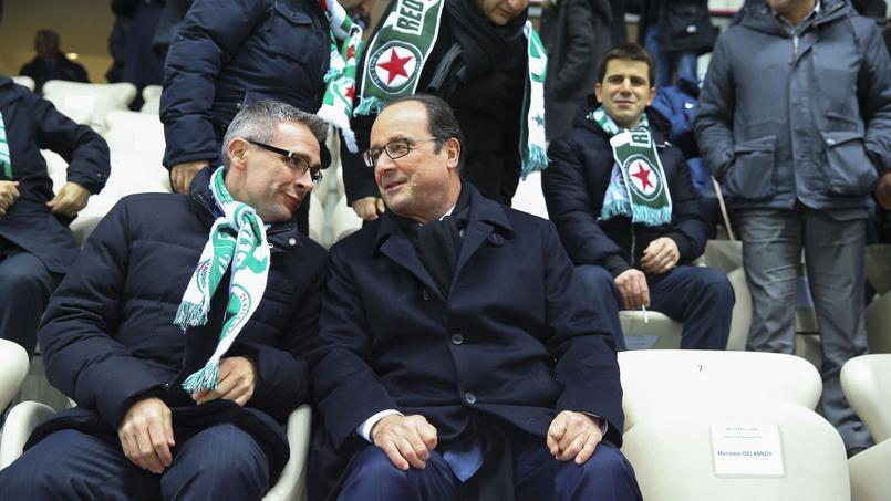 Pourquoi François Hollande rend visite au Red Star, son club de coeur