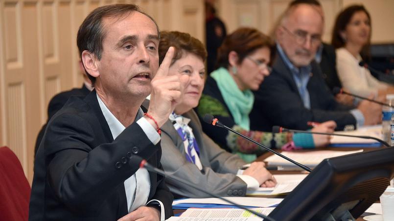 Robert Ménard, maire de Béziers élu avec le soutien du FN