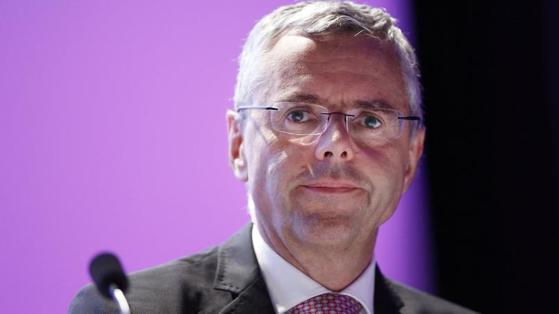 Michel Combes, ancien directeur général d'Alcatel-Lucent.
