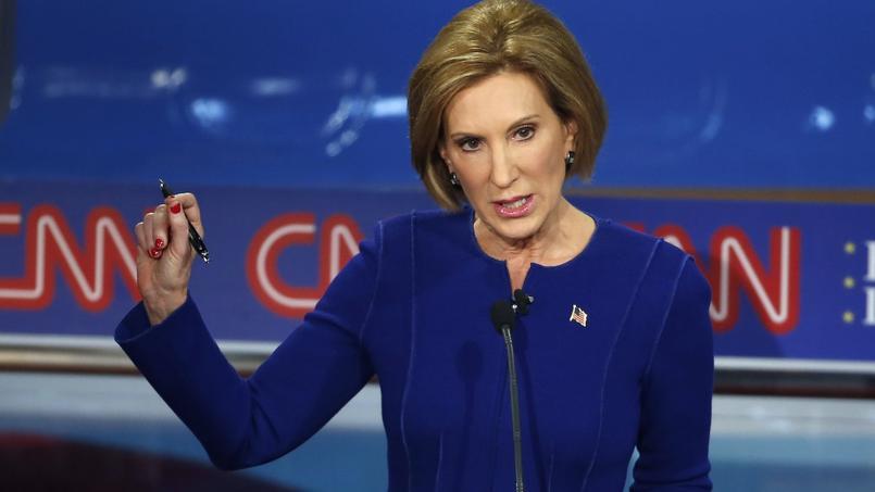 L'ancienne patronne de Hewlett Packard a marqué des points lors de ce deuxième débat entre les candidats républicains.