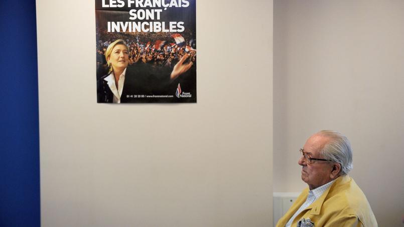 Jean-Marie Le Pen, fondateur du FN