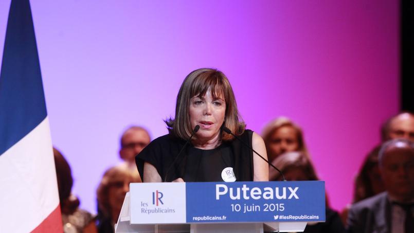 La maire de Puteaux, Joëlle Ceccaldi-Raynaud.
