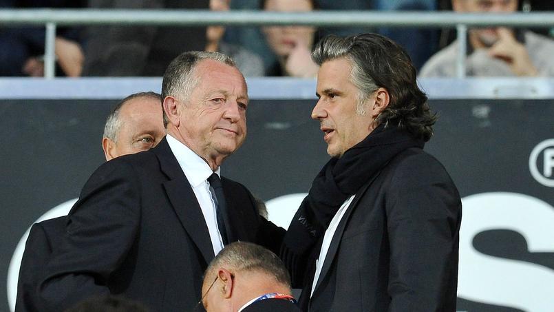 Jean-Michel Aulas et Vincent Labrune.