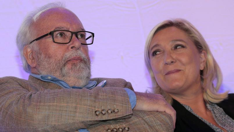 Marine Le Pen et Wallerand de Saint-Just.