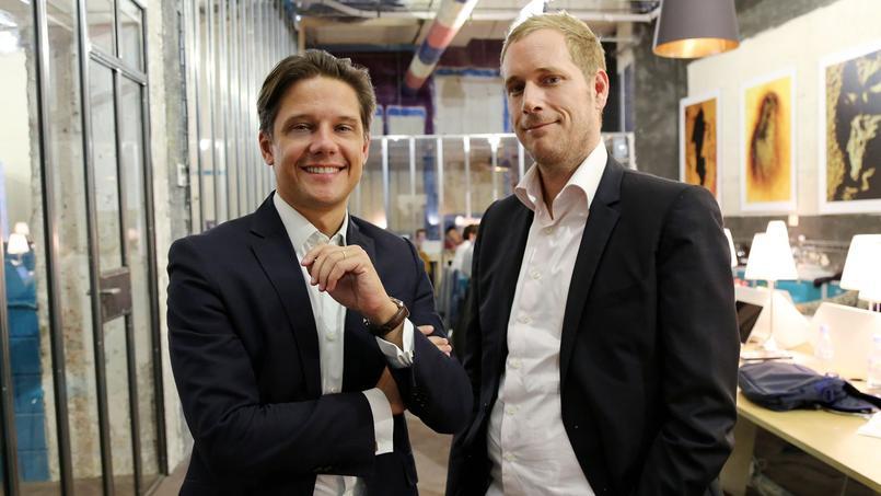 Grégoire Virat, associé chez Eurogroup Consulting, et Alexandre Martinelli, fondateur de La Javaness.