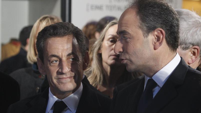 Nicolas Sarkozy et Jean-François Copé à Meaux, le 11 novembre 2011