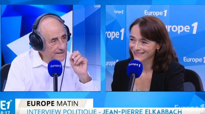 Delphine Ernotte répond aux questions d'un journaliste blanc de plus de 50 ans, Jean-Pierre Elkabbach