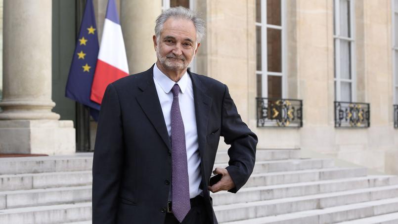 Jacques Attali à l'Élysée, le 21 septembre 2013.