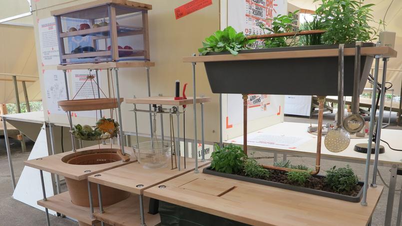 La cuisine modulaire conçue par Kitchen B (DR).