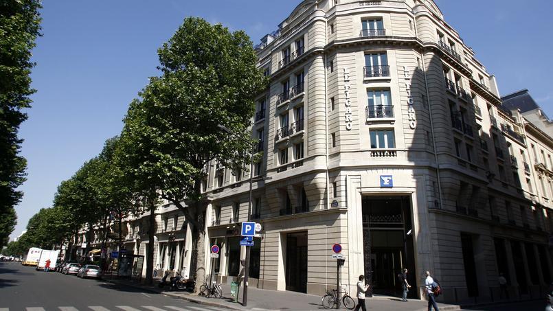 Le bâtiment du Figaro, boulevard Haussmann, à Paris.