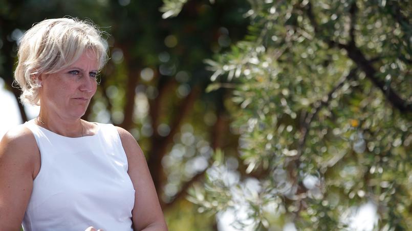 Nadine Morano à Nice, le 25 août 2012.