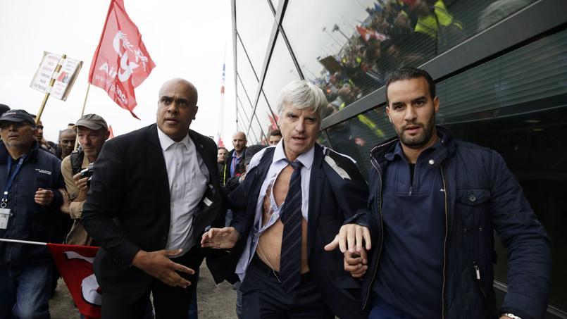 Pierre Plissonnier, responsable de l'activité long courrier à Air France, a été malmené lundi lors d'un comité central d'entreprise (CCE).