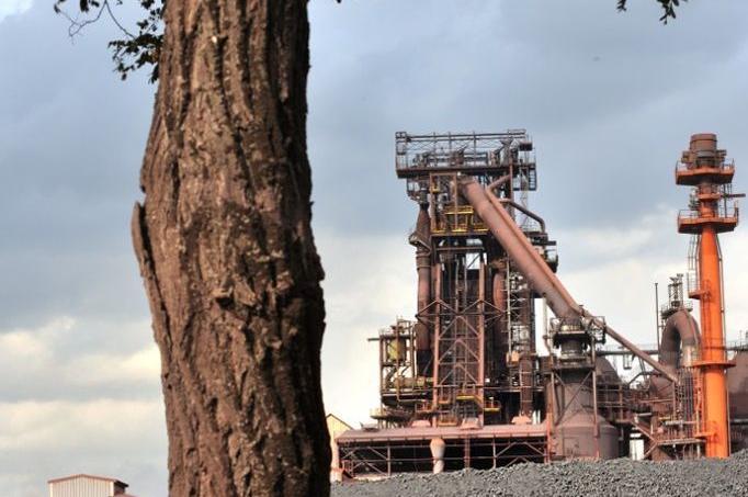 L'aciérie d'ArcelorMittal à Gand en Belgique.