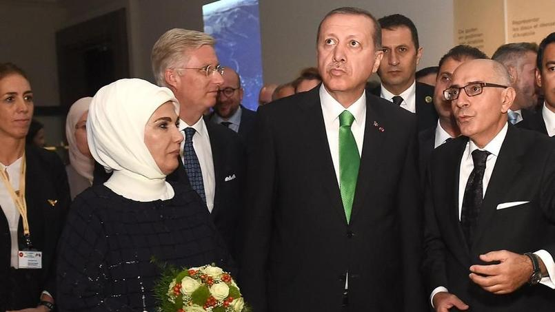 Le président turc de passage en Belgique