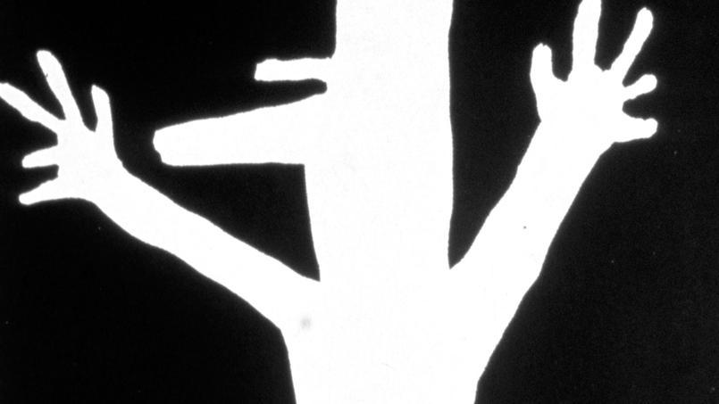 «La chienlit, c'est lui» , en réaction à la petite phrase du président de la République Charles de Gaulle, affiche de mai 1968.
