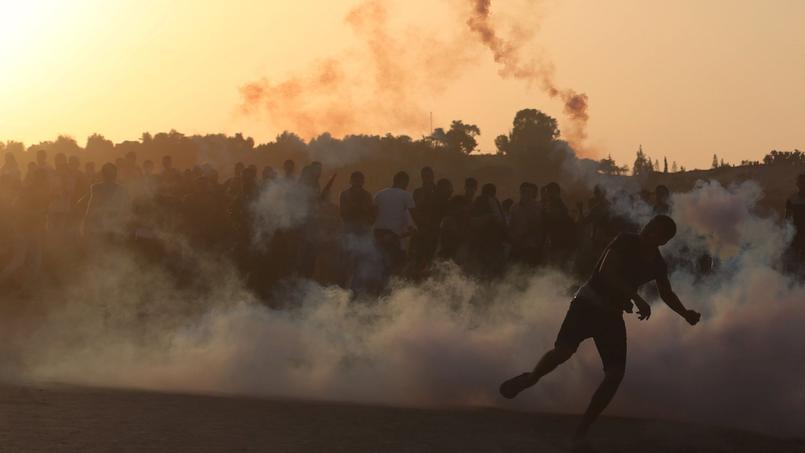 Quatre Palestiniens ont été tués dans des heurts avec les forces de l'ordre israéliennes aujourd'hui.
