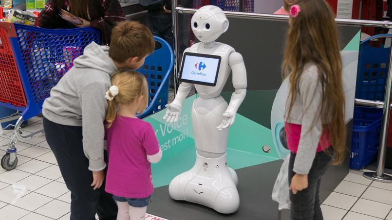 Pepper, le robot du français Aldebaran.