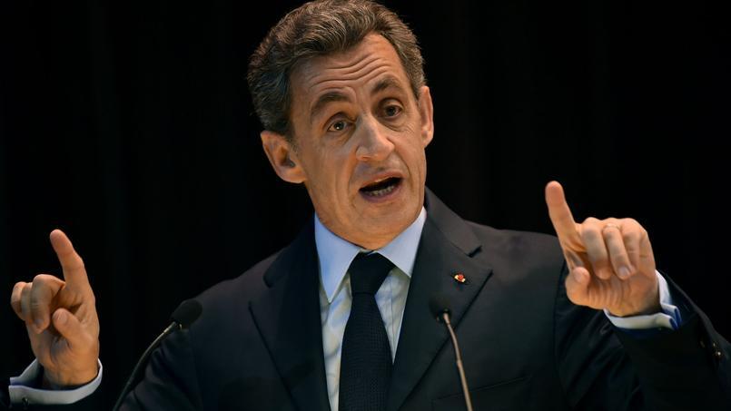 Nicolas Sarkozy, jeudi 29 octobre , devant des étudiants russes à l'Institut moscovite des relations internationales (MGIMO).