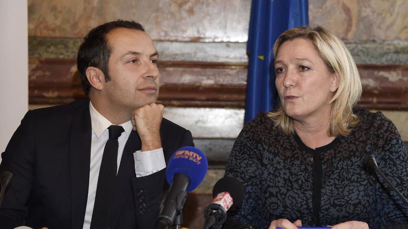 Sébastien Chenu et Marine Le Pen