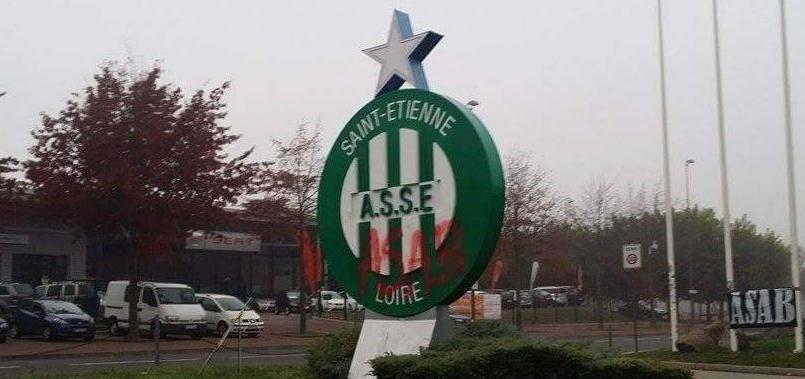 Les installations de Saint-Etienne vandalisées par des ultras lyonnais