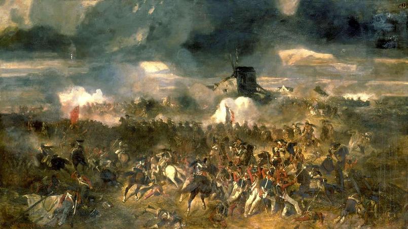 <i>La bataille de Waterloo, 18 juin 1815</i> - Clément-Auguste Andrieux