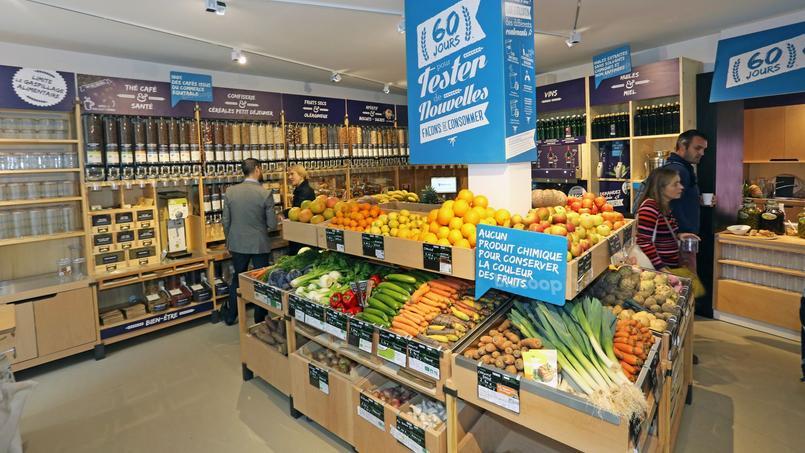 Le magasin Biocoop21 est situé dans le 10e arrondissement de Paris. Crédit: Biocoop.