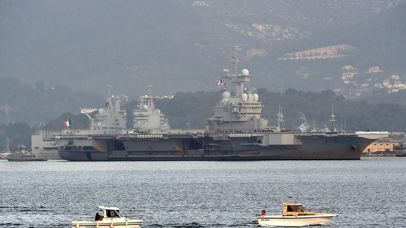 Le porte-avions Charles-de-Gaulle à nouveau mobilisé contre Daech