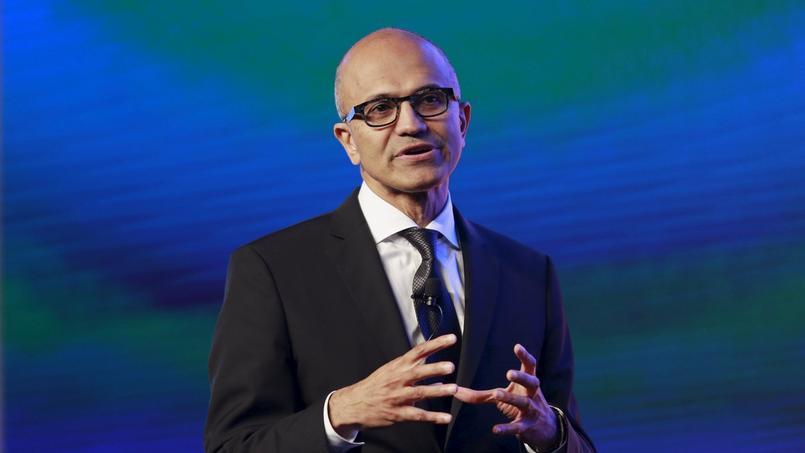 Le patron de Microsoft, Satya Nadella.