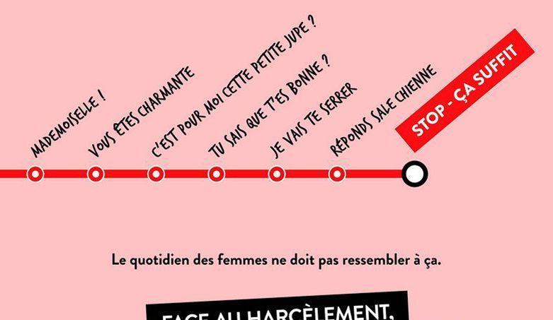 Extrait d'une affiche de la campagne «Stop_ça suffit» lancée par le gouvernement.