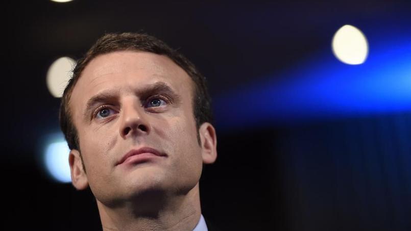 Le ministre de l'Économie, Emmanuel Macron