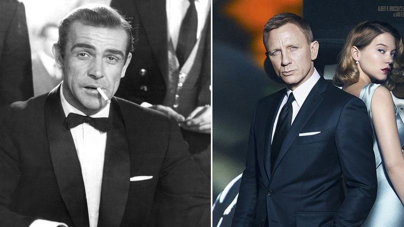 Sean Connery et Daniel Craig ont participé à l