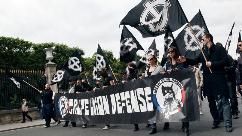 Le GUD, tel qu'il défilait en 2011, à Paris.