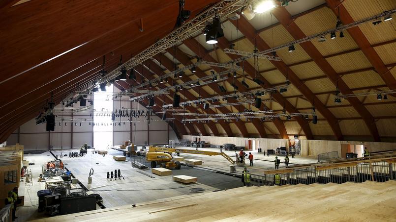 Les clés du site du Bourget (photo) seront remises fin novembre aux représentants de l'ONU.