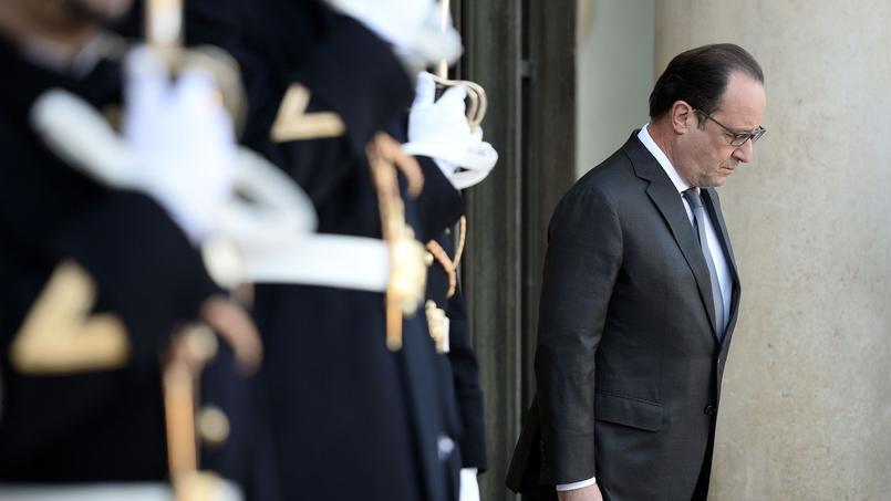 François Hollande, dimanche, à l'Elysée.