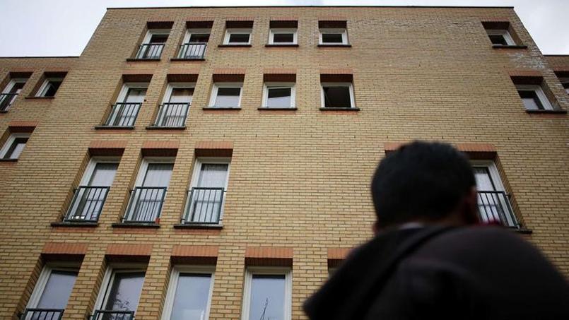 L'immeuble à Drancy dans lequel vit la famille de Samy Animour.