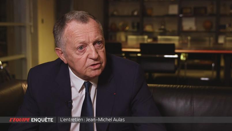 Jean-Michel Aulas pique une colère après un reportage à son sujet