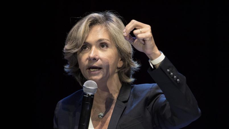 Valérie Pécresse en campagne, le 5 novembre.