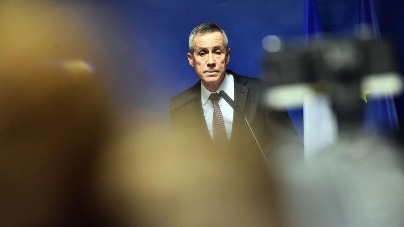 Le procureur François Molins, lros de sa conférence de presse mardi.