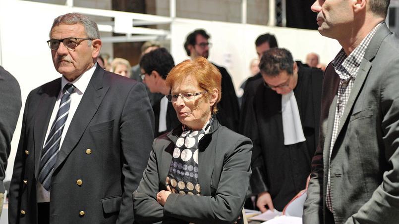 René Marratier (à gauche) et Françoise Babin